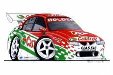 VX Holden Commodore:        Steven Richards  » Click to zoom ->