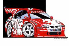 VX Holden Commodore:         Mark Skaife  » Click to zoom ->