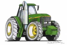 John Deer Tractor  » Click to zoom ->