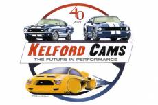 KELFORD CAMS, hand drawn and painted in acrylic  » Click to zoom ->